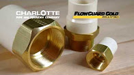 Charlotte Pipe Lead Free FlowGuard Gold Fittings
